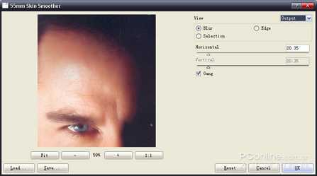 Photoshop照片处理好帮手 外挂滤镜55mm